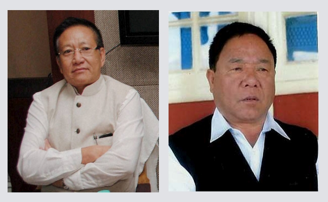 TR Zeliang & Kaito Ayeh