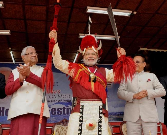 narendra-modi-hornbill-festival