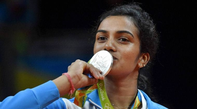 Sindhu gets over Rs 10 Crore cash rewards for her Olympic silver